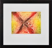 Sale 8296A - Lot 1 - Kevin Charles (Pro) Hart (1928 - 2006) - Dragonfly 29.5 x 39.5cm