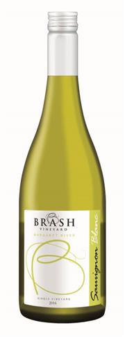 Sale 8515W - Lot 44 - 12x 2017 Brash Vineyard Sauvignon Blanc, Margaret River.  GOLD Medal – WA Boutique Wine Awards BRONZE Medal – National Wine Sh...