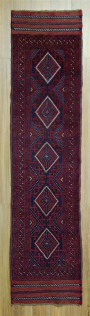 Sale 8585C - Lot 23 - Persian Baluchi Runner 247cm x 60cm