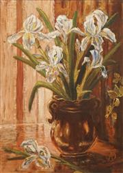 Sale 8609 - Lot 2006 - Artist Unknown - Still Life (Easter Lilies) 55 x 39cm