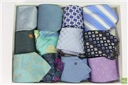 Sale 8635 - Lot 30 - Collection of Mens Silk Ties inc Louis Vuiton,Valentino,Versace, Dolce & Gabbanna,Fendi and Zegna (12)