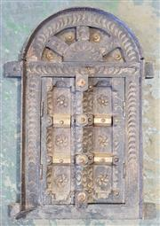 Sale 8971 - Lot 1057 - Small Castle Door (H:35 x W:42cm)