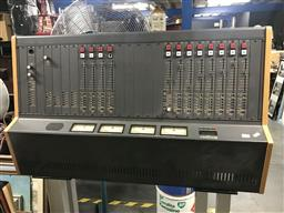 Sale 9106 - Lot 2134 - Auditronics Mixing Board & Power Supply PS-2500E (2) knobs in office