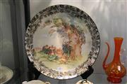 Sale 8296 - Lot 85 - Royal Doulton Under the Greenwood Charger