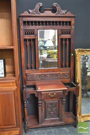 Sale 8312 - Lot 1013 - Mahogany Hall Stand