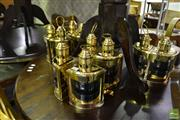 Sale 8472 - Lot 1076 - Collection of 10 Port and Starboard Lanterns