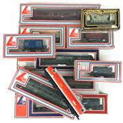 Sale 8545N - Lot 232 - Collection of Lima Model Train Carriages and one Mainline Carriage with Two Engines