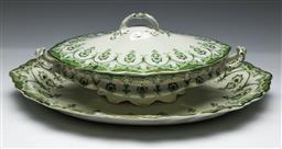 Sale 9144 - Lot 131 - A large Meakin ceramic serving dish together with A matching lidded tureen