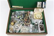 Sale 8393 - Lot 98 - Costume Jewellery & Decorative Wares in Timber Case