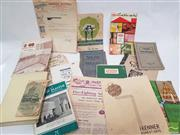 Sale 8900 - Lot 18 - Collection of Various Ephemera incl. New Ideas Worth Testing; Price List October 1946 Maran & Cato; The Clean House Effect; etc