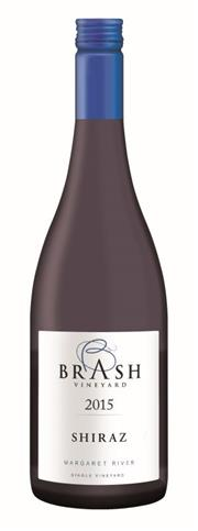 Sale 8515W - Lot 46 - 12x 2015 Brash Vineyard Shiraz, Margaret River.  95 POINTS – Huon Hooke (ranked #1 of 22 tasted from SW Australia) 5 Stars Win...