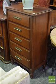 Sale 8523 - Lot 1024 - Chest Of Five Drawers