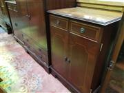 Sale 8657 - Lot 1022 - Pair of Lift Top Entertainment Cabinets
