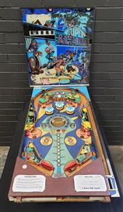 Sale 8984 - Lot 1072 - Vintage Triple Action Pinball Gaming Board & Glass Display Back