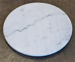Sale 9174 - Lot 1357 - Round marble table top (d60cm)