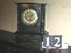 Sale 7504A - Lot 12 - BLACK MANTEL CLOCK