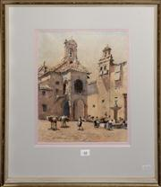 Sale 8080A - Lot 48 - Lionel Lindsay, St Iago, Antequeria, SLL dated June 1927