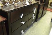 Sale 8093 - Lot 1093 - Timber Mirrored Back Dressing Chest