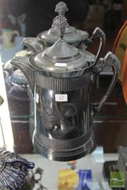 Sale 8217 - Lot 22 - Pewter Jug