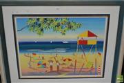 Sale 8464 - Lot 2008 - Ashleigh Manley (1946- ) Beach Life Savers, watercolour, signed and dated lower left