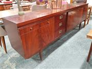 Sale 8782 - Lot 1083 - Vintage Sideboard with 3 Doors and 3 Drawers