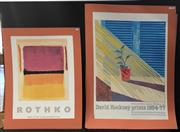 Sale 8953 - Lot 2044 - Group of (3) Exhibition Posters: Rothko, David Hockney and The C19th New York Film Festival