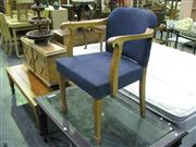 Sale 7931A - Lot 1139 - Blue Upholstered Armchair