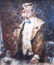 Sale 8518A - Lot 67 - G K Townsend - The Chairman 25 x 20cm