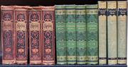 Sale 8568A - Lot 82 - Otto Lachmann, Works of Heinrich Heine, 4 volumes, Leipzig, together with 4 German volumes on Shakespeare, and 3 volumes Eduard Mo...