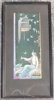 Sale 8998 - Lot 2053 - Mary Gold  - Exotic Lady, Print