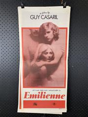 Sale 9003P - Lot 55 - Vintage Movie Poster - Emilienne