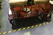 Sale 8035 - Lot 1035 - Carved Timber Occasional Table on Cabriole Legs
