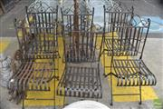 Sale 8326 - Lot 1396 - Set of 6 Metal Outdoor Chairs