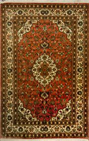 Sale 8424C - Lot 24 - Persian Kashmiri Silk 190cm x 123cm