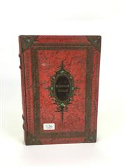 Sale 8539M - Lot 126 - Tin Book Form Container with Magic Kerchiefs