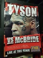 Sale 8573 - Lot 2070 - Boxing Posters Incl Mike Tyson