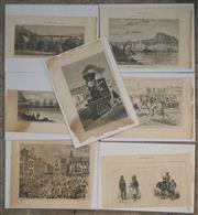 Sale 8734A - Lot 77 - A collection of (7) various antique prints