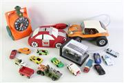 Sale 8926 - Lot 83 - Collection of Vintage toys inc. matchbox, buggy cars and others