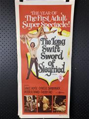 Sale 9003P - Lot 56 - Vintage Movie Poster - The Long Swift Sword of Siegfried