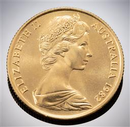 Sale 9153C - Lot 308 - AUSTRALIAN TWO HUNDRED DOLLAR GOLD COIN; Brisbane Commonwealth Games, 22ct gold, wt. 10.0g