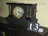 Sale 7504A - Lot 13 - WATERBURY BLACK MANTEL CLOCK