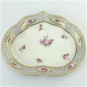Sale 8356A - Lot 5 - Duesbury Derby Late 18th Century Kidney Shaped Dish