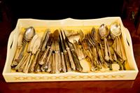 Sale 8392H - Lot 109 - A quantity of cutlery by Harrison Brothers & Hauson, cutlers to His Majesty.