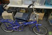 Sale 8495 - Lot 2087 - A Collapsible Bike