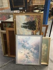 Sale 8750 - Lot 2072 - Group of Assorted Decorative Prints