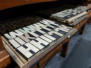 Sale 8765 - Lot 1024 - Set of Printers Blocks Over Four Trays