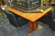 Sale 8165 - Lot 1079 - Timber Dining Table