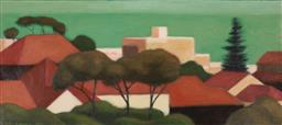 Sale 9214 - Lot 558 - PETER ODOHERTY (1958 - ) Towards the Sea, 2000 oil on canvas 40.5 x 91 cm signed and dated lower left, Nick Ginsberg Gallery label ...