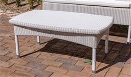 Sale 9248H - Lot 30 - A Cotswold Winter Lace coffee table in ivory by Vincent Shepperd, length 107cm RRP $1150