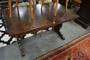 Sale 8087 - Lot 1092 - Ercol Dining Table